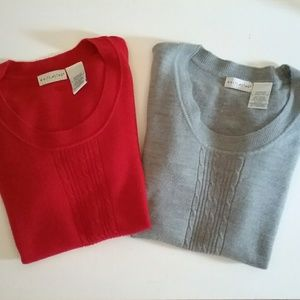 WHITE STAG Pullover Sweaters - 2 Size L